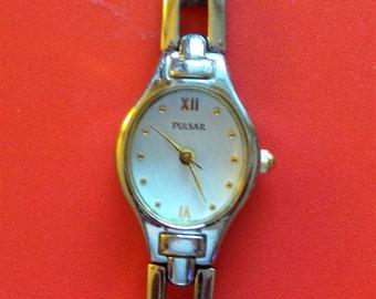 A Vintage Ladies  'PULSAR' Quartz Watch - Boxed - Ideal Gift / Present