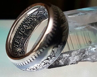 Radiant 1920-1945 Silver One Peso Ring