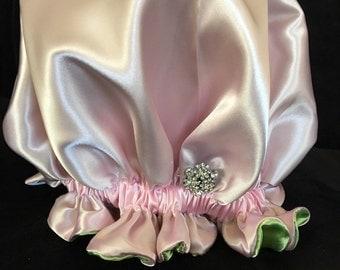 Belle Giselle Satin Bonnet- Queen AKA