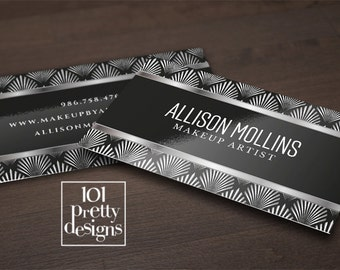 Golden business card template art deco business card design gold business card printable gatsby business cards gold and black graphic design