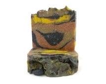 A Multi-Clay Experience, clay exfoliating soap, clay soap, exfoliating soap, activated bamboo charcoal, detox soap, handmade soap, soap