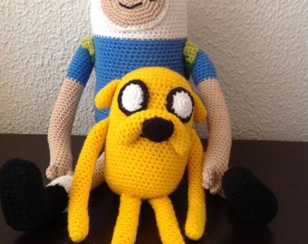 Adventure time Finn and Jake Crochet Amigurumi