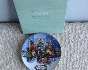 Avon Christmas Plate 1991