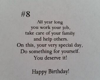 Birthday message #8