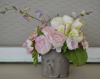 Mother's Day Floral Arrangement | Spring Floral Arrangement | Spring Centerpiece | Mother's Day Gift | Spring Wedding Centerpiece