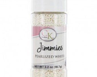 PEARLIZED WHITE Sprinkles