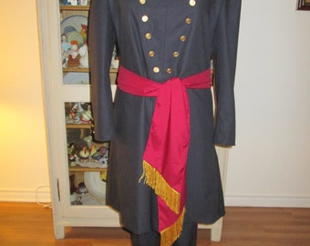 "Civil War Soldier Uniform (Size L 42""-44"")"