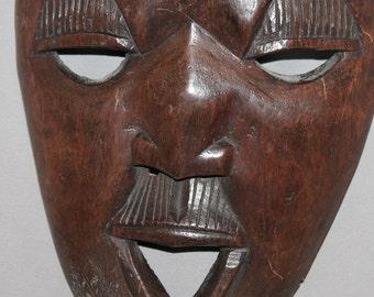 Vintage Hand Carving Wood Mask