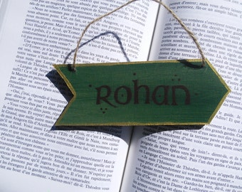 Mini arrow Lord of the rings / / riders of Rohan / / wall decoration