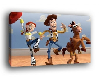 Toy Story Woody Canvas Art Print A1 A2 A3 A4