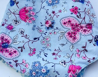 Covers diaper Vichy with Flors