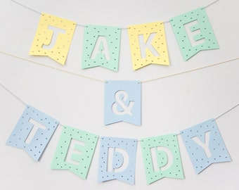 Personalised Paper Cut-Out Bunting