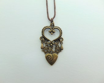 A Hearty Heart Necklace