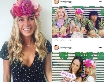 Bachlorette Flower Crowns, Maternity Flower Crowns, Adult Flower Crowns, Birthday Flower Criwns
