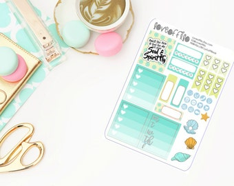 Oceana Side Bar | Life Planner Stickers