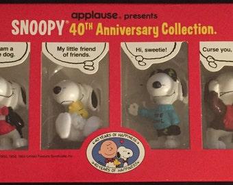 Anniversary Snoopy Etsy