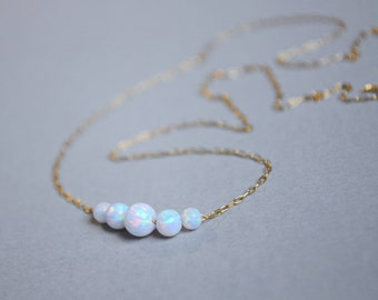 Opal necklace. Wife white jewelry. Blue Opal Jewelry. White Opal. Fire opal. Opal jewelry women. Wife gift opal. Necklace Opal gift for her