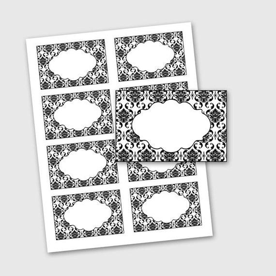 Decorative Mailing Labels Lavender Bedroom Decorating