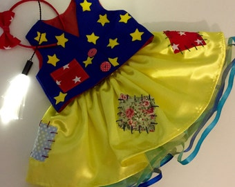 Mr.Tumble baby girl/ CBeebies characters girls outfit. Up to 6 years.