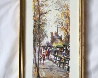Vintage Liciano Delarue  Print 459