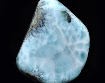 Larimar pendant, Nr. 5, 67 carat, Atlantis stone, healing stone, gem