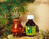 Etherische olie EUCALYPTUS zuivere 100% 25ml + AROMATHERAPIE (set) houten DIFFUSER voor Desctop #A2