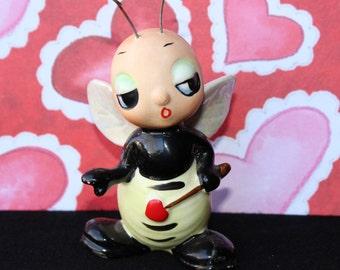 "Vintage JOSEF ORIGINALS ""LOVE Bug"" Bumblebee from The ""Buggy Bugs"" Series"