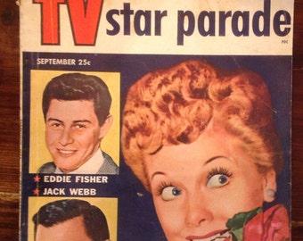 TV Star Parade, September 1954