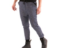 Blue Salt And Pepper Men's Jogger Pants