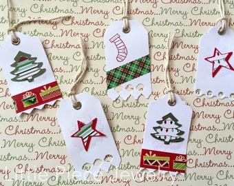 Christmas Gift Tags - Assorted Colors