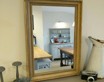 Edwardian picture frame mirror