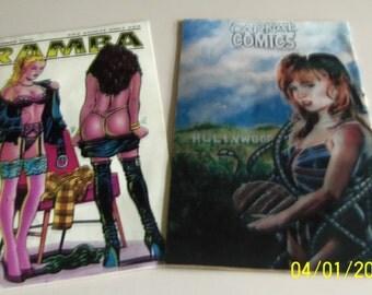Two Erotic Comic Books