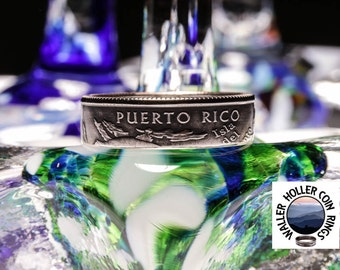 Puerto Rico Coin Ring