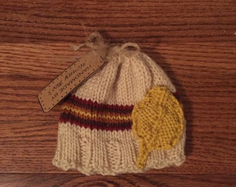 Knit Fall hat for Boy