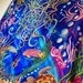 Jellyfishes Garden Tapestry Grateful Dead Steal Your Face Tapestry