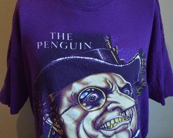 Vintage SSI Express Batman's The Penguin Graphic T-Shirt (Size: XL)