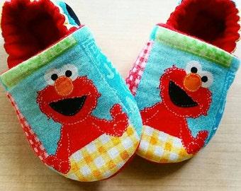 Elmo inspired Baby/Kid Booties
