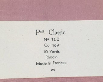 Vintage 4 7/8' inch Pink Taffeta Ribbon - 10 Yard piece