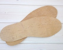 Natural Insoles from Birch Bark - Inner Soles - Innersoles - Unisex Pre-Cut For You Men Woman Work Boots Shoes Trainers Comfort Insoles