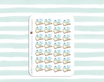 Items similar to Cute Planner Study Stickers / Bible Study ...