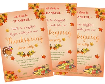 Thanksgiving,Thanksgiving invitations,Holiday cards, Thanksgiving dinner,Thanksgiving dinner invitation,Thanksgiving;