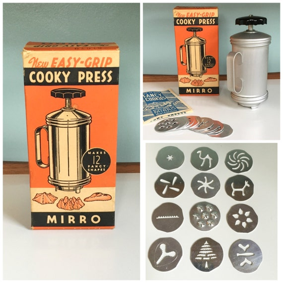 mirro cookie press instructions