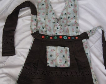 Handmade child apron