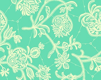 Amy Butler - Lark - Souvenir - Mineral - Cotton Sateen - by the yard