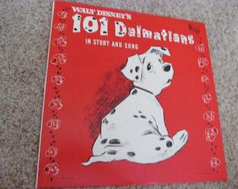 1963 Walt Disney's Record- 101 Dalmatians