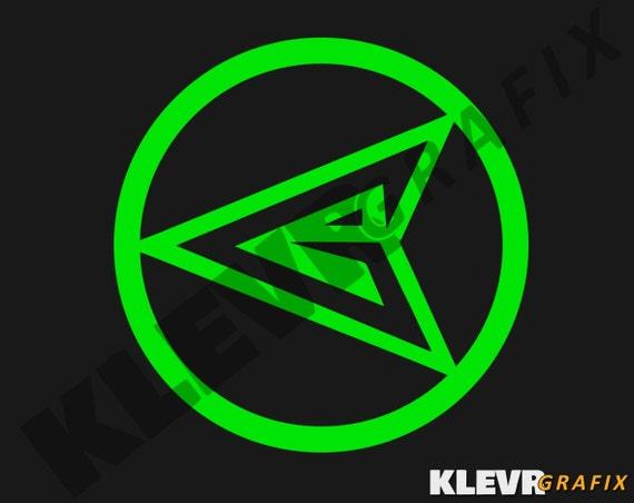 Green Arrow Logo Emblem Vinyl Decal DC Comics by KLEVRgrafix Green Arrow Superhero Logo