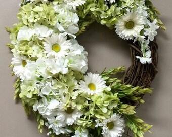 Spring Floral Grapevine