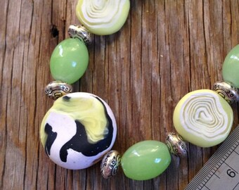 Lemon, Lime & Bitters - Statement Necklace