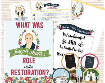 April {Come Follow Me} What was Joseph Smith's role in the restoration? Teaching Package