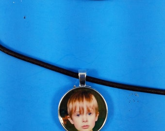 Sublimated Picture on Cord Necklace